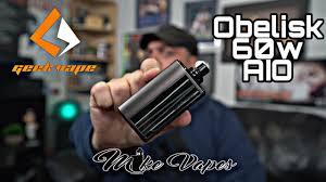 <b>GeekVape Obelisk 60w</b> AIO! - YouTube
