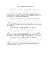 superb narrative and descriptive essay examples  brefash how to write a descriptive essay abo
