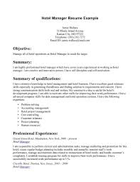 hotel and restaurant management resume s management lewesmr sample resume resume for hotel internship programshospitality management