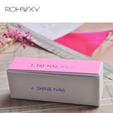 ROHWXY 3 шт. <b>пилка для ногтей профи</b> Полировочная пилка для ...