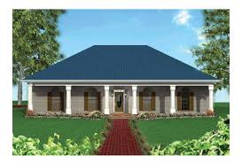 Eplans Country House Plan   Large Front Porch   Square Feet    Front