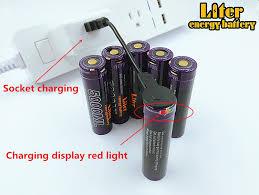 <b>4PCS</b> Liter energy battery <b>USB 5000ML</b> Li ion Rechargebale battery ...