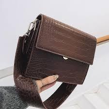Women's Luxury Handbag Fashion <b>PU</b> Leather Women <b>Crocodile</b> ...