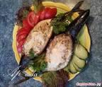 Рецепт фаршированных лодочек из скумбрии