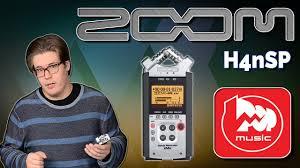 <b>ZOOM</b> H4nSP - популярный <b>цифровой</b> рекордер со множеством ...