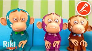 Пять <b>Обезьянок</b> - Five Little Monkeys - Best Nursery Rhymes ...