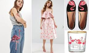 How <b>flamingos</b> are this <b>summer's</b> hottest <b>fashion</b> motif   Daily Mail ...