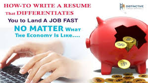 How-to Write a Resume that Differentiates You to Land a Job Fast No M… When UNEMPLOYMENT IS HIGH and you find yourself in a competitive job market, ...