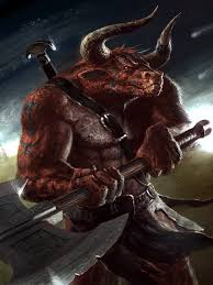 Image result for minotaur