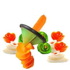<b>1pcs</b> New 9cm Vegetable Flower Spiral Slicer Fruit Funnel Spiralizer ...
