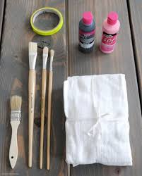DIY Idea: <b>Hand Painted</b> Tea Towels | Christmas <b>kitchen</b> towels