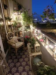 20 small balcony lighting ideas twinkle lights perfect place balcony lighting