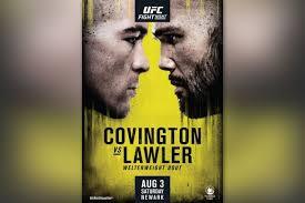 UFC on ESPN: Covington vs. Lawler - Predictions and Picks
