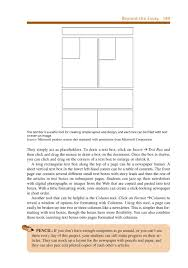 ett writing chapter com beyond the essay 189 the text box is a useful tool for creating simple layout and