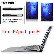 High quality Business Folio stand cover case For <b>Jumper ezpad pro</b> ...