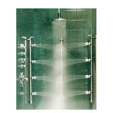 ideas shower systems pinterest: multi head shower system back to experience showers