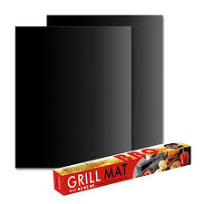 <b>Non</b>-<b>Stick</b> BBQ <b>Grill Mat</b> Barbecue Baking Mat Liners <b>Teflon Heat</b> ...
