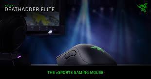 Razer DeathAdder Elite - The Esports Gaming Mouse