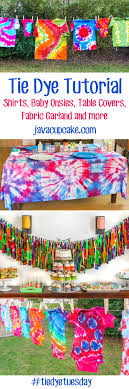 ampamp prep table: shirts baby onsies table tie dye tutorial collage shirts baby onsies table