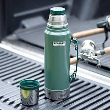 <b>Термос Stanley Classic Vacuum</b> Bottle 1L - Hammertone Green