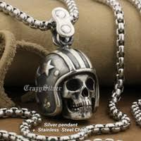 Mens Stainless Steel <b>Skull</b> Pendants Online Shopping | Mens ...
