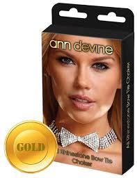 Купить <b>Ann Devine</b> Чокер-<b>бабочка</b> из кристаллов (золотистый) по ...