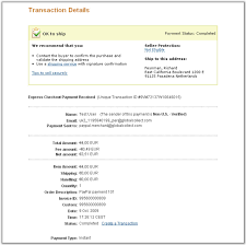 payment product please note that the billing agreement id is not shown on the initial order only on the recurring payment details