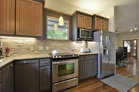 Different Kitchen Cabinets Two Tone Kitchen Cabinet Doors Amys Office