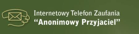 """Internetowy Telefon Zaufania """"Anonimowy Przyjaciel"""""""