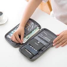 Waterproof Oxford Bag <b>Multifunctional Storage</b> Bag Wallet <b>Outdoor</b> ...