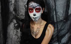 just follow expert makeup artist bethany 39 s step by step sugar skull makeup tutorial and you 39 ll be