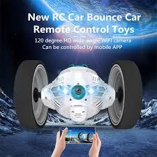 RC Car <b>Bounce</b> Car Remote Control Toys RC Robot 50cm <b>High</b> ...
