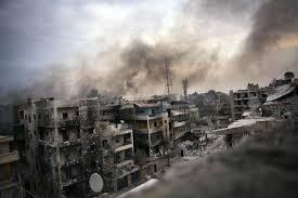 Resultado de imagem para bombardeio na síria]