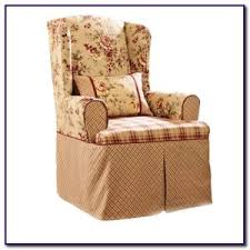 Wingback Chair Slipcover Pattern Wing   E