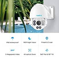 Reolink <b>PTZ PoE</b> Security <b>Camera</b>, 5MP Super HD CCTV IP ...