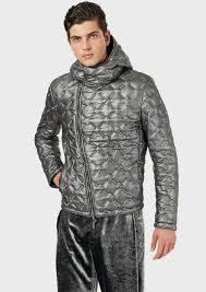 Кожаные <b>Куртки</b> Для Мужчин   Emporio Armani