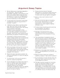 good topics for argumentative essays writing controversal essay topics