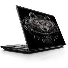 """Laptop Notebook <b>Universal</b> Skin Decal Fits 13.3"""" to 16"""" / Wolf ..."""