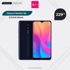 UniMall.az - <b>Xiaomi Redmi 8A 2</b>/<b>32GB</b> Black Sifariş:... | Facebook