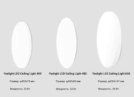 Потолочный <b>светильник Xiaomi Yeelight LED</b> Ceiling Lamp Bright ...