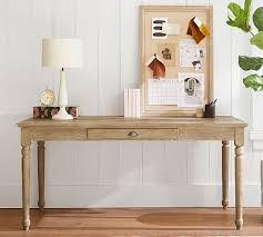 "Printer's 64"" <b>Writing Desk with</b> Drawer | Pottery Barn"
