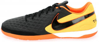 <b>Бутсы</b> мужские <b>Nike Legend 8</b> Academy Ic черный/желтый цвет ...