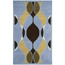 safavieh soho blue swirl area rug cheerful home office rug wayfair safavieh