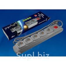 <b>Сетевые фильтры Uniel S-GSU5-5</b> GREY, цена 459.55 RUB ...