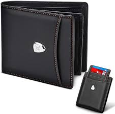 Men <b>Wallet</b> RFID Blocking with 14 <b>Card Slots</b>,Genuine Leather Slim ...