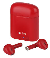 <b>Intro BI1000R</b> вкладыши ultra slim, Bluetooth-гарнитура с зар ...