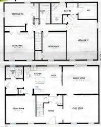 First story  Ranch house plans and Open floor on Pinterest story polebarn house plans   Two Story Home Plans   House Plans and More