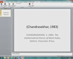 inserting citations references into powerpoint endnote example of a citation and a reference inserted using the toolbar and the harvard style