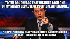 Politically Incorrect Colbert - Imgflip via Relatably.com