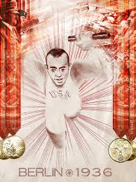 digital art exhibition celebrates historic moments in sports and jesse owens berlin 1936 by nikkolas
